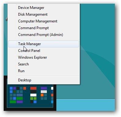 power user menu