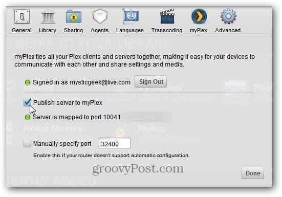 publish server