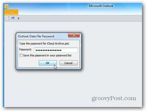 restart outlook