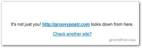 website down for everyone