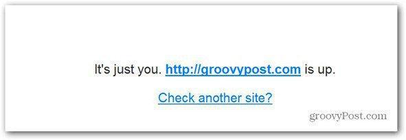 website down just for you