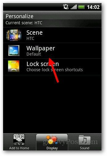 how to change wallpaper on your android device