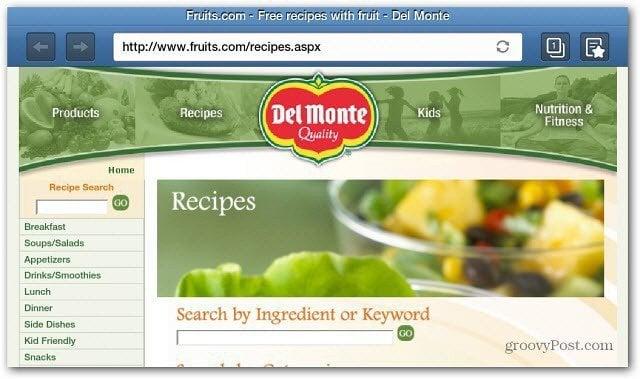 DelMonte Website