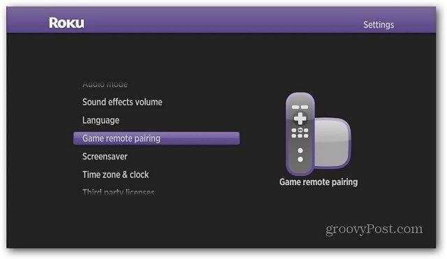 Game Remote Pairing