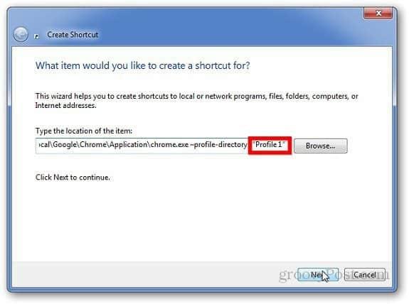 Google Chrome Profile 2