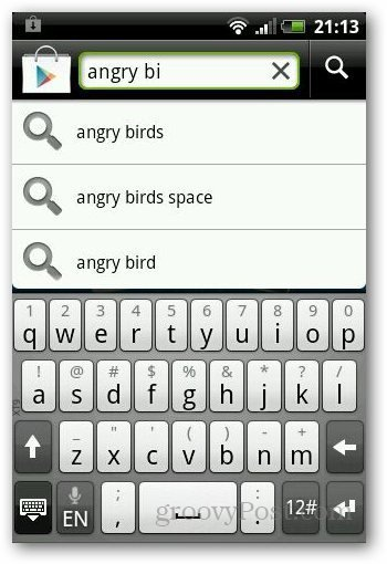 Google Play Store Search 3