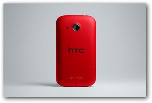 HTC Desire C- red