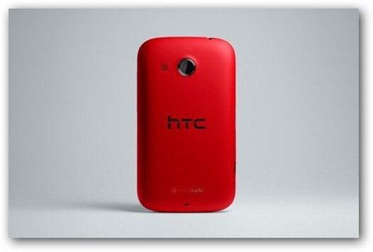 HTC Desire C- red