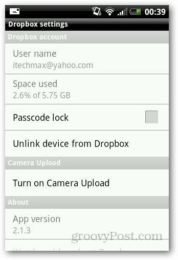Password Protect Dropbox 2