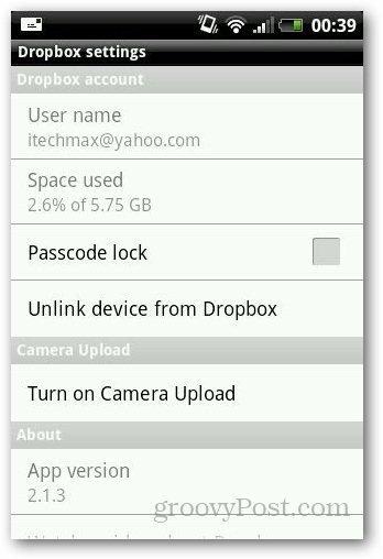 Password Protect Dropbox 2