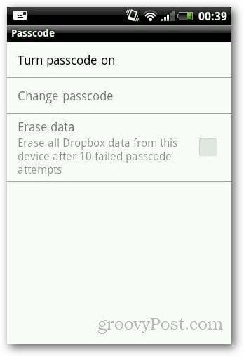 Password Protect Dropbox 3