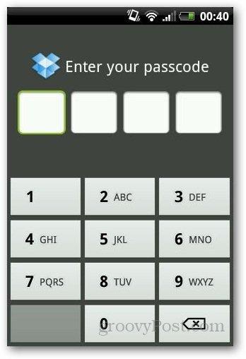 Password Protect Dropbox 4