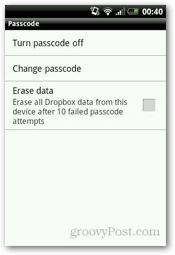 Password Protect Dropbox 5