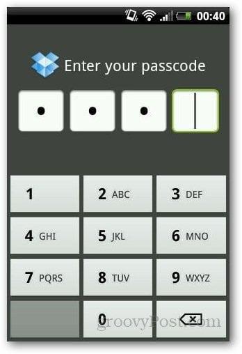 Password Protect Dropbox 6
