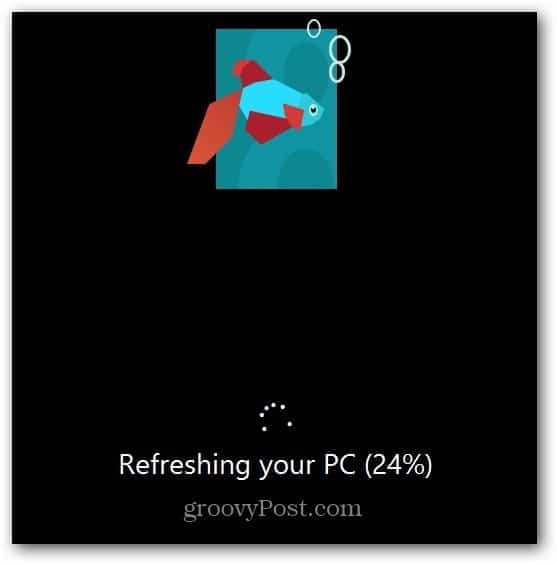 Refreshing your PC