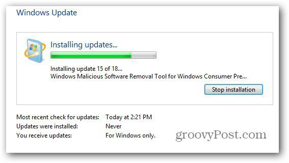 Windows Updates