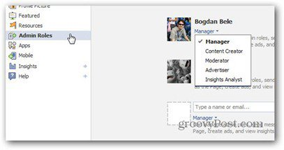 facebook manage admin assign roles