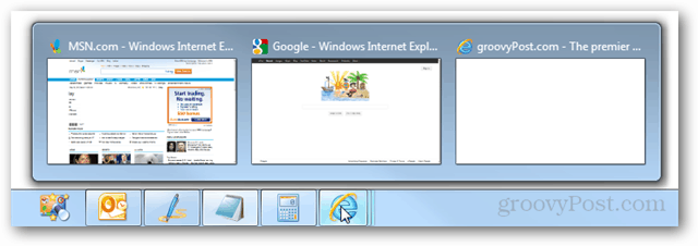 ie9 multi tab previews