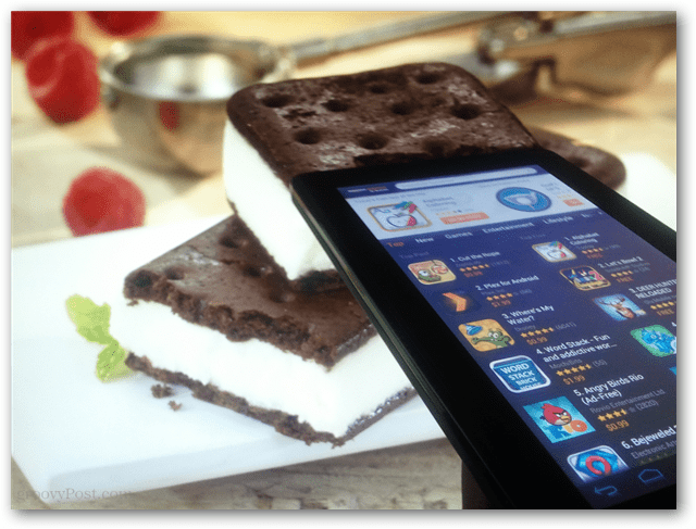 Ice Cream Sandwich on the Kindle Fire
