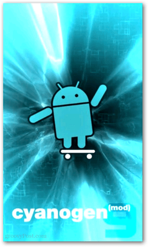 cyanogen mod flash screen