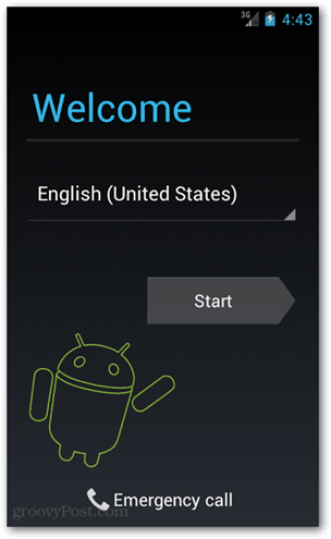ics welcome screen