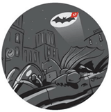 Bat signal of the internet