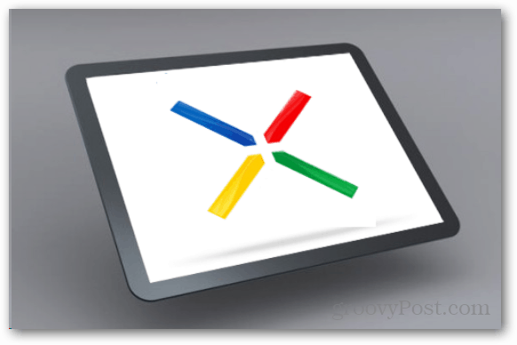 Google Nexus tablet planned for 2012