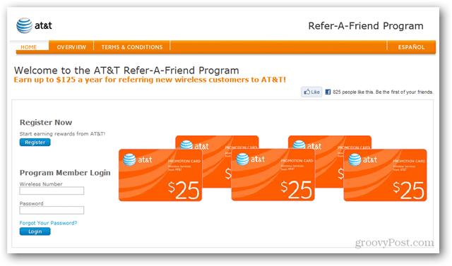 AT&T Refer-A-Friend Program
