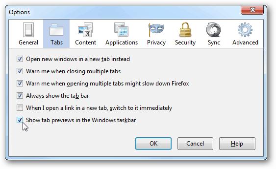 firefox open tabs