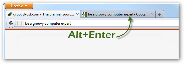 alt+enter to open new tabs from firefox searches