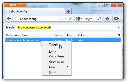 toggle openintab settings