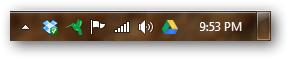 Dropbox and Google Drive desktop client