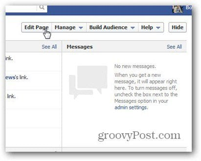manage facaebook page admin rights edit page