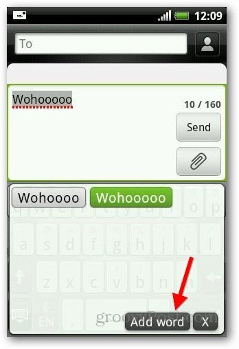 Add Dictionary Android 10