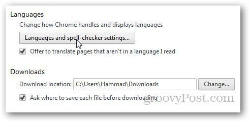 is installed with the English language as the default How to Change Google Chrome Default Language