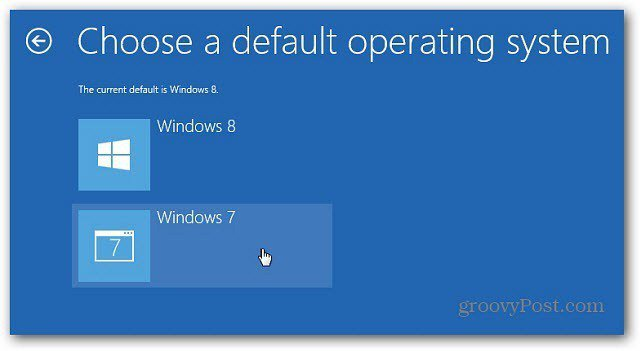 Choose Different OS