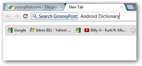 Chrome Search Engines 6