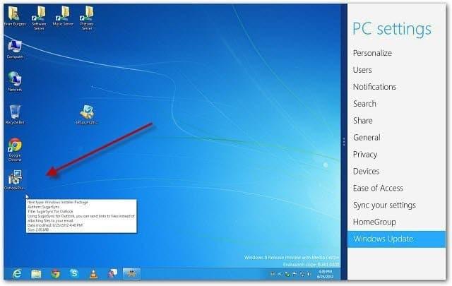 Copy to Windows 8