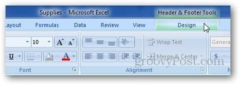 Excel Header Footer 4