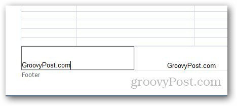 Excel Header Footer 8