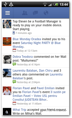 Facebook app center android app