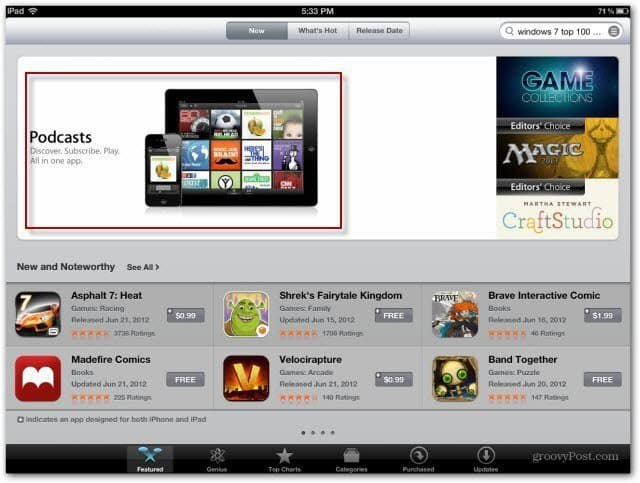 Featured in App Store