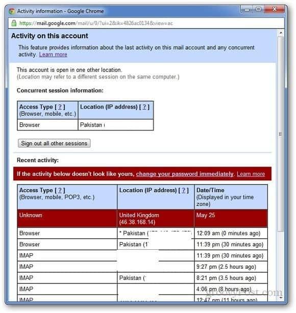 Gmail Activity 3