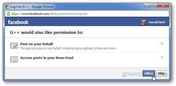 Google Plus Facebook 7