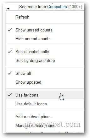 Google Reader Favicon 5