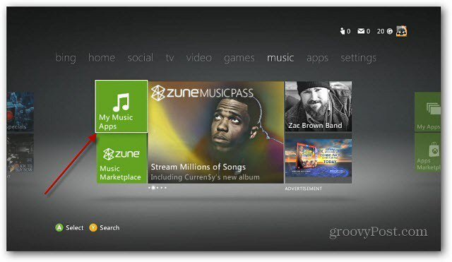 Stream Music From Your iPod Touch to Xbox 360