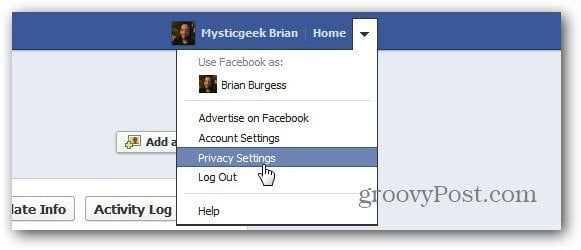 Privacy Settings