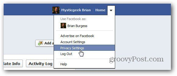 how to change privacy settings on facebook post