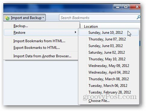 how to recover deleted bookmarks chrome windows 10