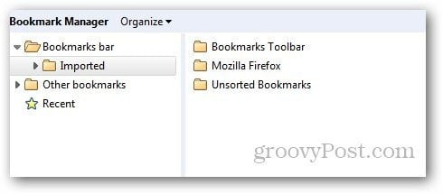 Transfer Bookmarks Firefox 10